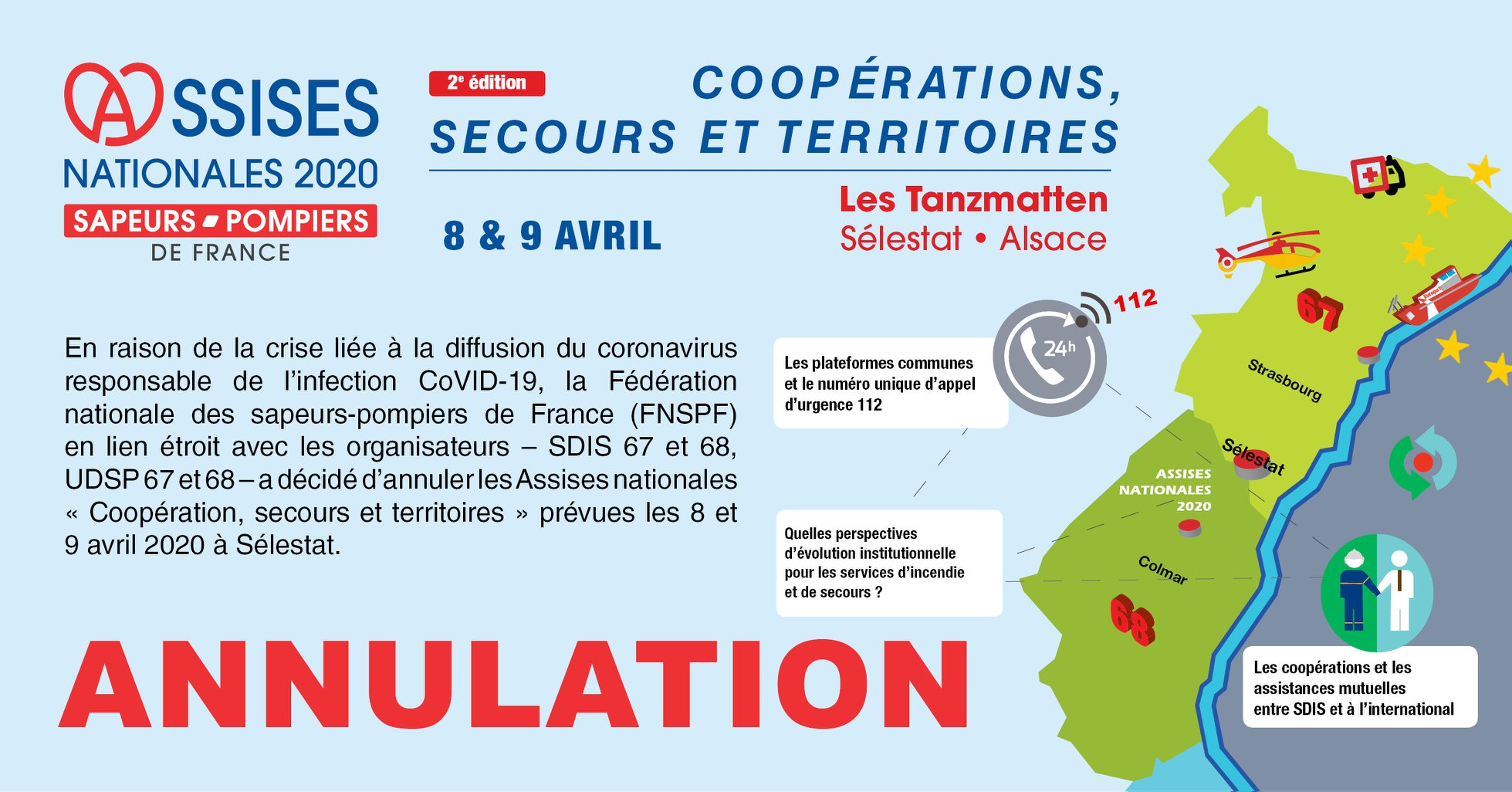Annulation Assises nationales SPF